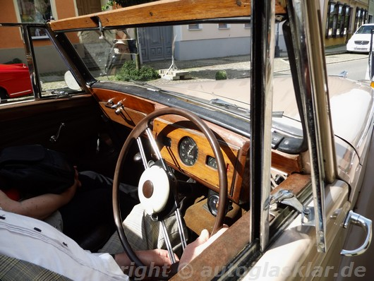 Interieur Armstrong-Siddeley Hurricane