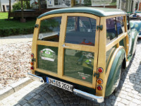 Morris Minor Heckansicht