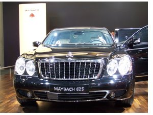 Nobellimousine Maybach 62S